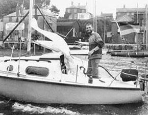 Atlantik-Überquerer John Adam aus Mölln